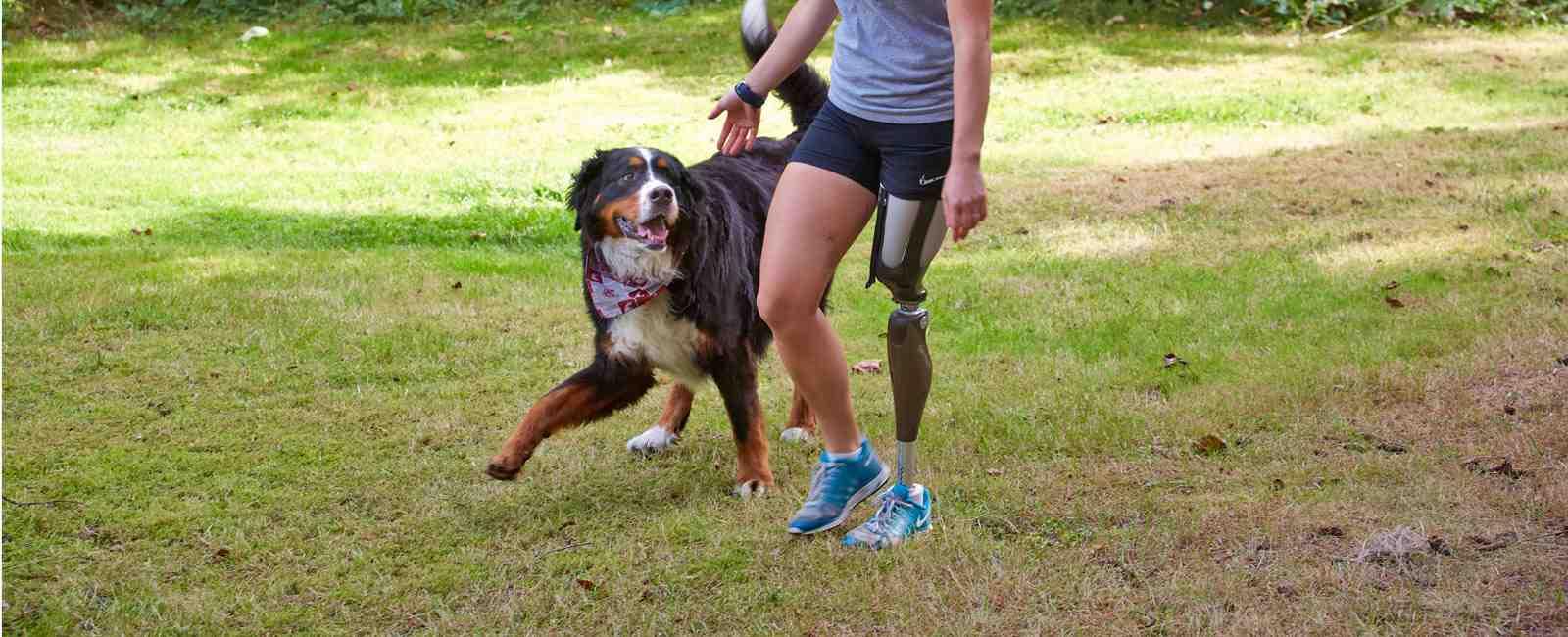Enjoy a jog with your favorite dog.